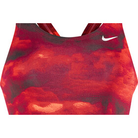 Nike Swim Cumulus Fastback Tank Swimsuit Mädchen university red
